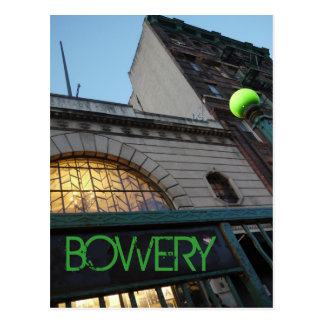 Down on the Bowery Postcard