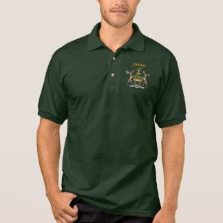 Down Polo Shirt