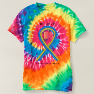 Down Syndrome Awareness Ribbon Custom Art Shirts