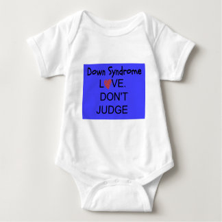 down syndrome baby bodysuit