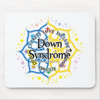 Down Syndrome Lotus Mouse Pad