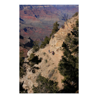 Down the Canyon Print