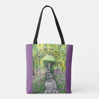 Down the Garden Path Tote Bag