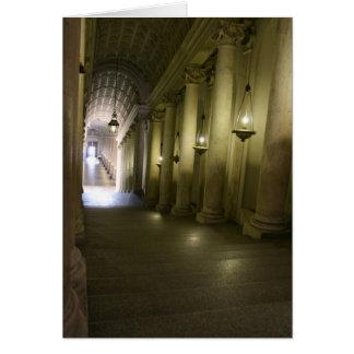 Down the Hallway Card