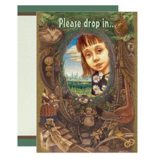 Down the Rabbit Hole Card