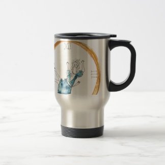 Down the Rabbit hole Stainless Steel Travel Mug