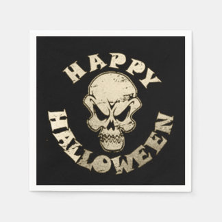 Down Under Halloween Party Paper Napkins