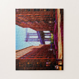 Down Under Manhattan Bridge overpass Jigsaw Puzzle
