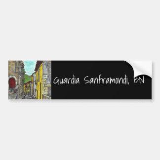 Down Via Costarella Bumper Sticker