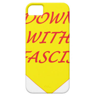 Down with Fascism Barely There iPhone 5 Case