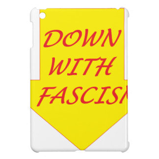 Down with Fascism iPad Mini Covers