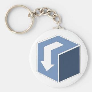 DownBlock Simple Key Chain