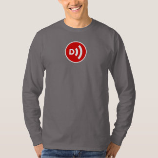 Downcast Circle Logo Long Sleeve t for men T-Shirt