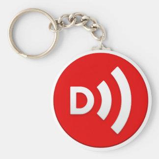 Downcast Logo Keychain
