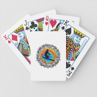 Downhill Edge Bicycle Playing Cards