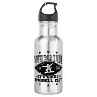 DOWNHILL FAST! (blk) 532 Ml Water Bottle