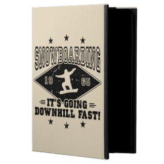 DOWNHILL FAST! (blk) Powis iPad Air 2 Case