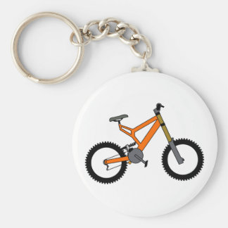 Downhill Key Ring