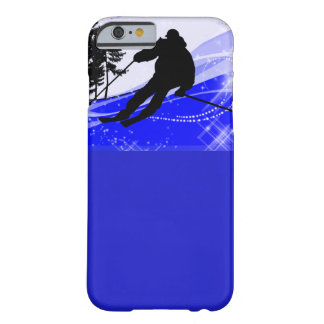 Downhill on the Ski Slope Barely There iPhone 6 Case