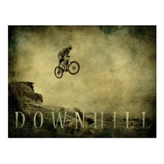 Downhill Postcard