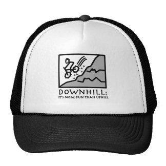 Downhill Thrill Mountain Biking Mesh Hats