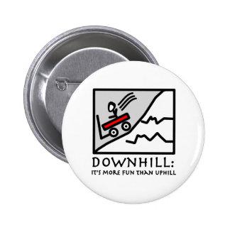 Downhill Thrill Wagon Button