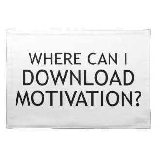 Download Motivation Placemat