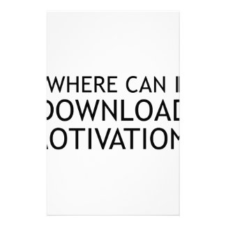 Download Motivation Stationery