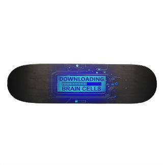 Downloading brain cells. skate board deck