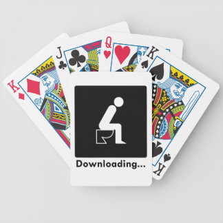 Downloading Poop Bicycle Playing Cards