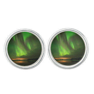 Downstream Aurora Cuff Links