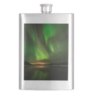 Downstream Aurora Hip Flask