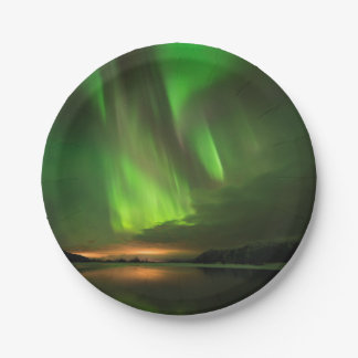 Downstream Aurora Paper Plate