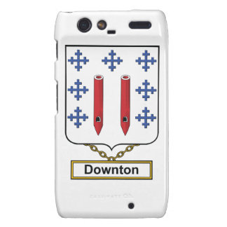 Downton Family Crest Droid RAZR Cover