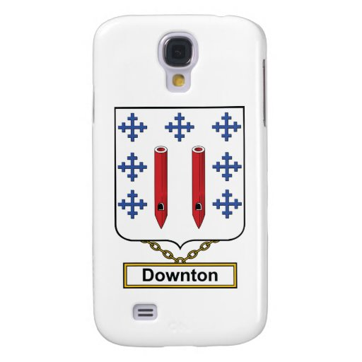 Downton Family Crest Samsung Galaxy S4 Covers