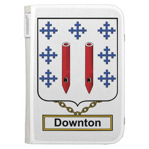 Downton Family Crest Kindle 3 Covers