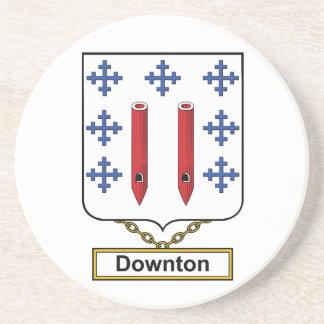 Downton Family Crest Beverage Coasters