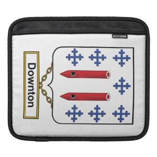 Downton Family Crest iPad Sleeves