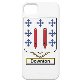 Downton Family Crest iPhone 5 Cover