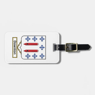 Downton Family Crest Travel Bag Tag