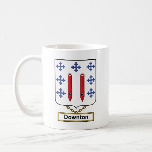 Downton Family Crest Mugs