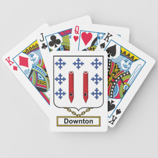 Downton Family Crest Deck Of Cards