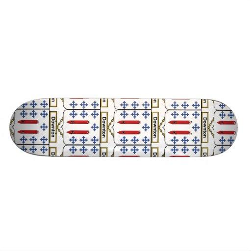 Downton Family Crest Skate Deck