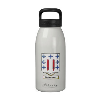 Downton Family Crest Water Bottles