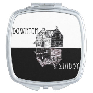Downton Shabby Parody Compact Mirror