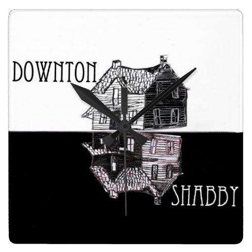 Downton Shabby Wall Clock
