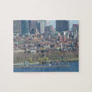 Downtown Boston and the Charles River Jigsaw Puzzle