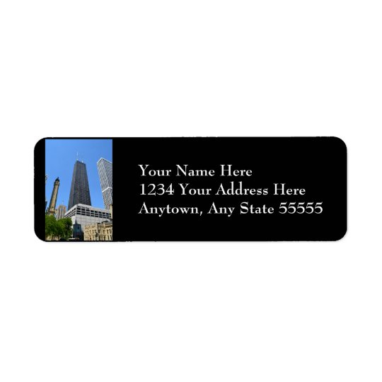 Downtown Chicago Return Address Labels