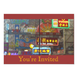 Downtown China Invitation