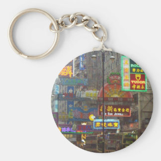 Downtown China keychain
